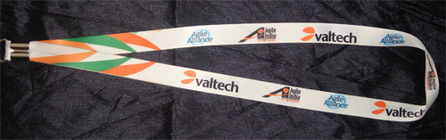 Agile India 2012 Conference Badge